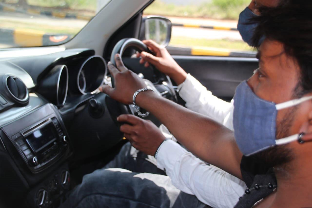 RV Driving School at work