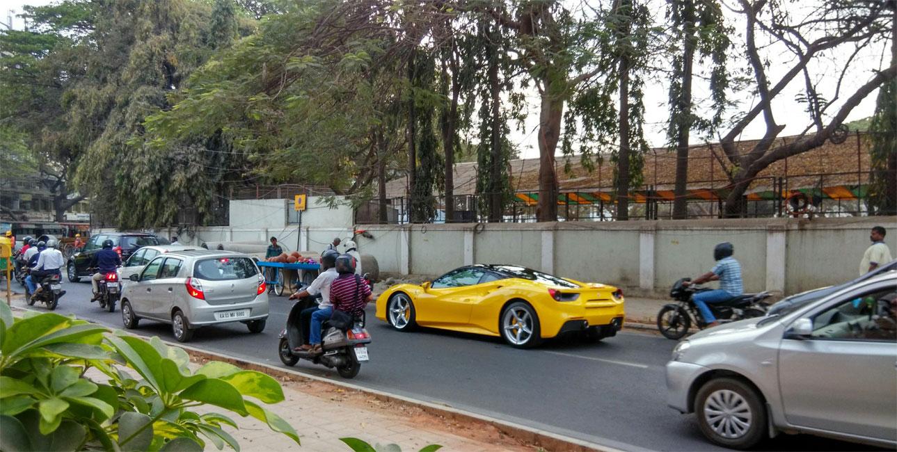 Bangalore traffic classes